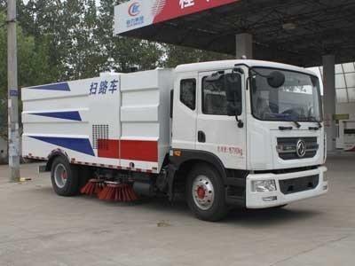 程力威牌CLW5161TSLD4型扫路车