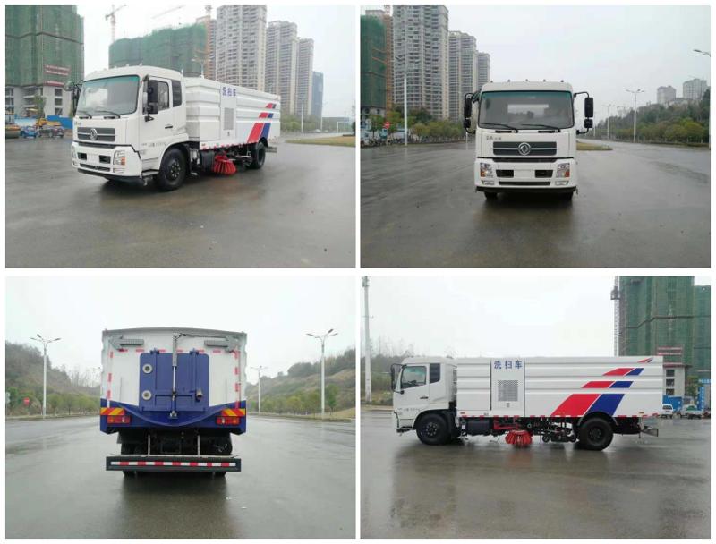 东风天锦16方洗扫车