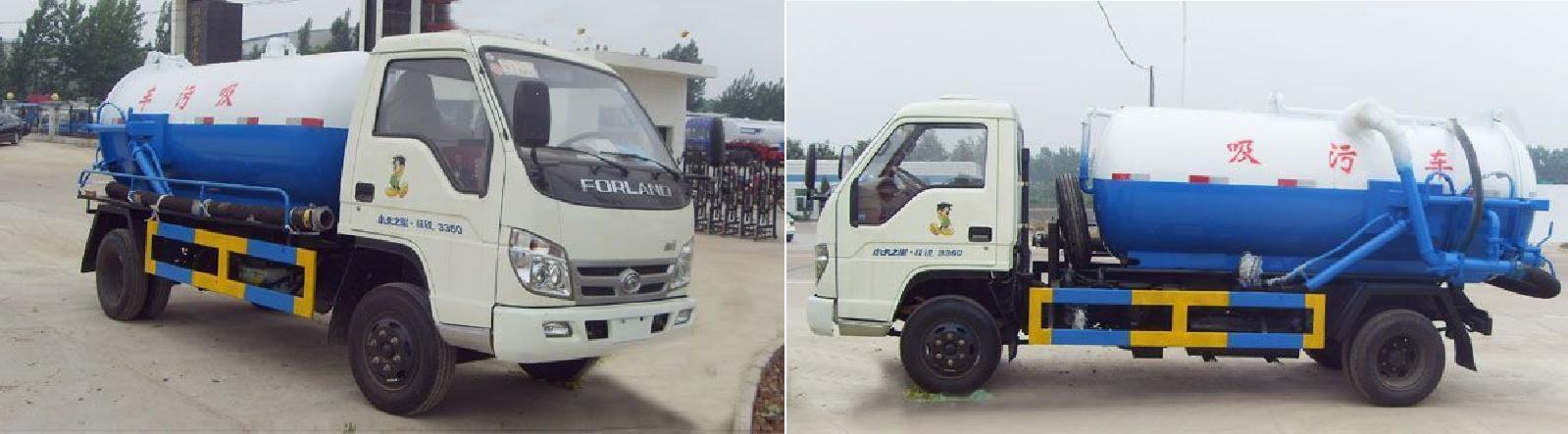 福田轻型吸污车