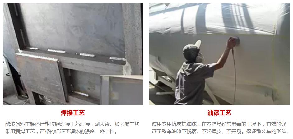 散装饲料运输车焊接